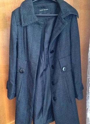 Пальто від zara basic