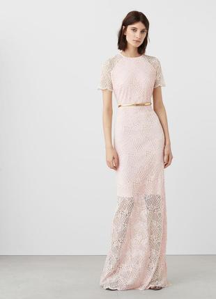 Роскошное нарядное платье mango