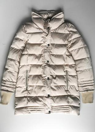 Пуховик зимнее пальто zara куртка
