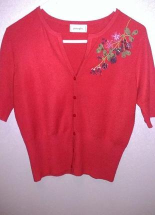Вышитый свитер, кофта, кардиган, ручная вышивка