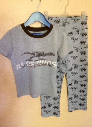 Пижама на мальчика gee jay 4-6 лет