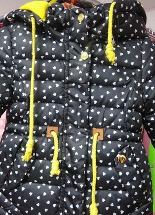 Курточка для маленьких модниц