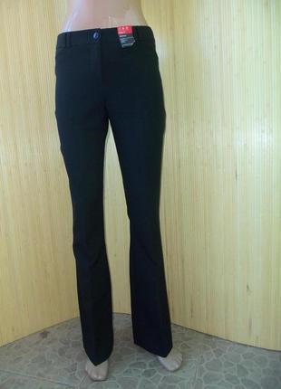 Чёрные классические брюки в деловом стиле atmosphere