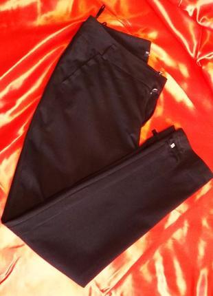 Классические черные брюки от vangeliza, р.44-46