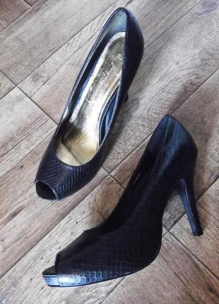 Туфли с открытым носком, 27,5 см
