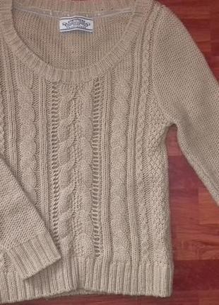 Карамельный свитер