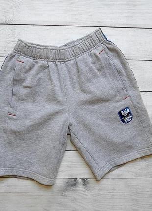 Серые шорты на флисе team gb, для мальчика 9-10 лет. 134-140 рост