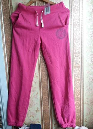 Теплые спортивные штаны джоггеры с начесом р. 152 и 164 alive германия