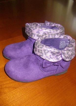 Новые ботиночки faded glory(сша),размер 26