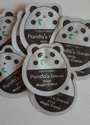 Пробник tony moly pandas dream white magic cream
