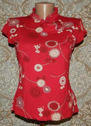 Блуза в китайском стиле new look 14р.