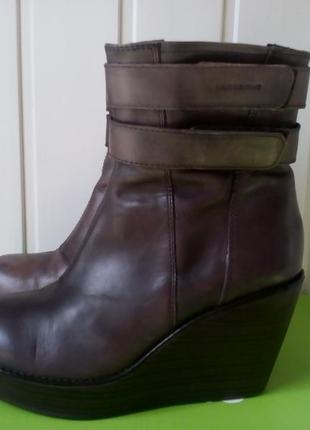 Кожаные ботинки фирмы vagabond