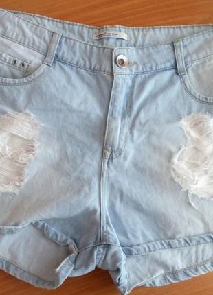 Шорти джинсові ststradivarius