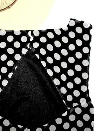 Платье в горошек-спинка открыта --срочная продажа --5