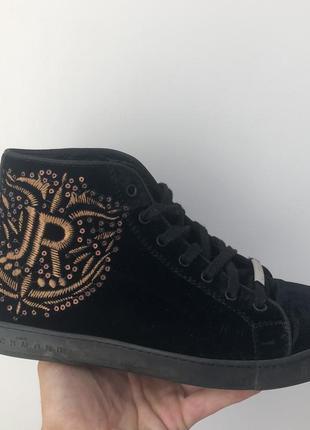 Бархатные кросовки johs richmond