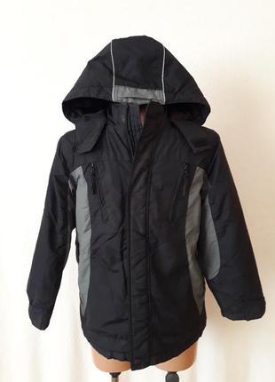 Демисезонная куртка фирмы marks&spencer p. 140 на 9-10лет