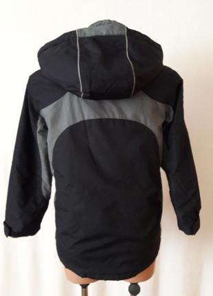 Демисезонная куртка фирмы marks&spencer p. 140 на 9-10лет2 фото