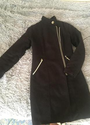 Пальто кашемир размер xs