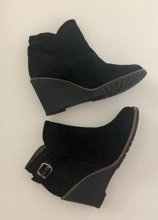 Замшевые ботинки португалия