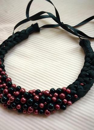 Колье коса, ожерелье, кольє, намисто