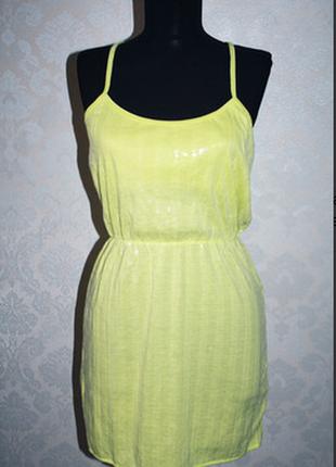 Новое! ! мини платье-сарафан aeropostale, разм.м