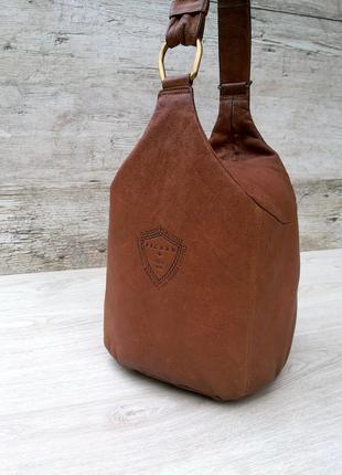 Picard кожаная сумка / рюкзак  германия ( кожаный рюкзак )