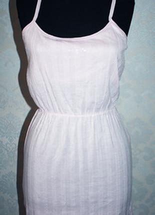 Новое! мини платье-сарафан aeropostale, разм.м,и.l