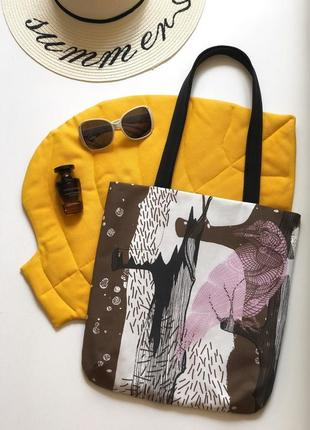 Текстильная эко-сумка handmade