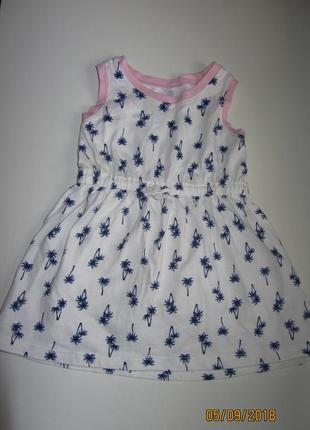 Платье , сарафан для девочек carter's