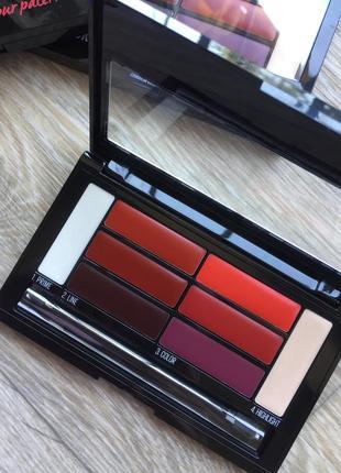 Помада, палетка помад maybelline color drama lip contour palette