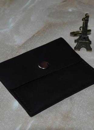 Кожаный маленький кошелек (на подарок)