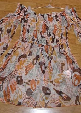 Эффектная блуза  freesoul шелк