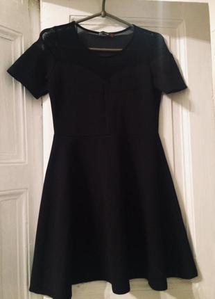 Красивое платье-трапеция dilvin