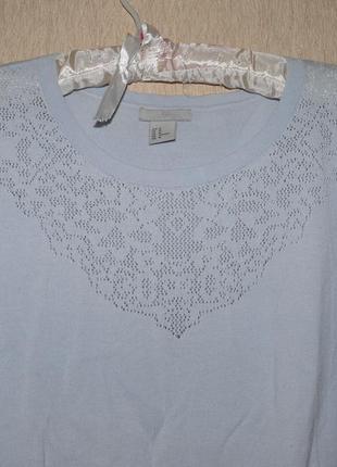 Нежный ажурный свитерок