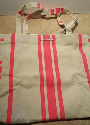 Пляжная сумка victoria's secret в полоску