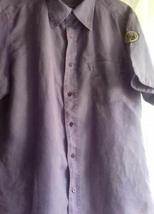 Рубашка из рами( крапива) от silver creek