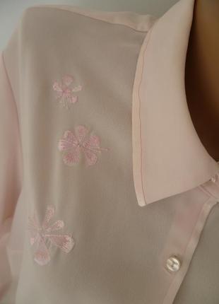 Блуза розовая  marks ? spencer