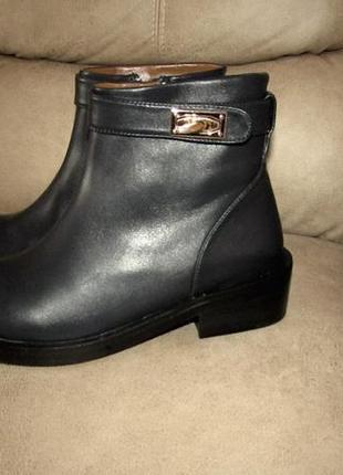 Стильные ботиночки натуральная кожа люкс качество!!!