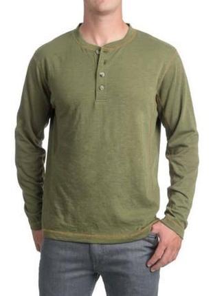 Лонгслив pacific trail henley shirt olive