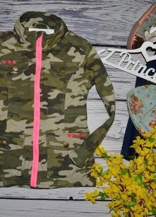 5 лет 110 см обалденная деми парка куртка курточка пиджак хаки стильной девочке