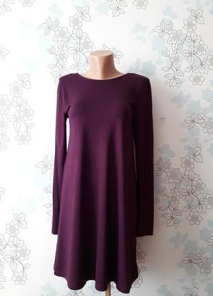 Красивое короткое свободное платье