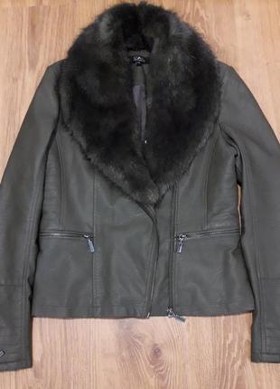 Куртка еко кожа