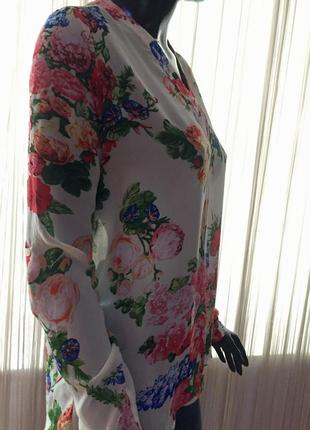 Нереальная шифоновая рубашка, блуза amisu