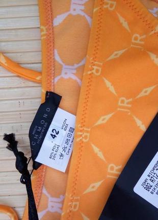Солнечный итальянский купальник халтер с завязками john richmond s4