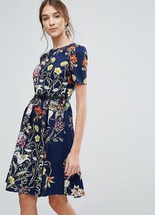 Платье с цветочным принтом uttam boutique a1074