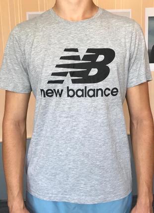 Мужская футболка new balance  размер l