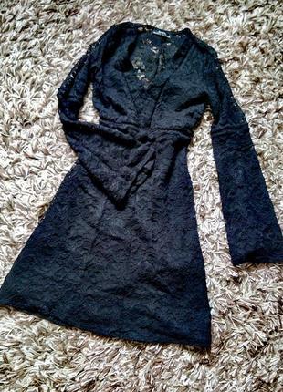 Распродажа в связи с переездом! ажурное платье bershka