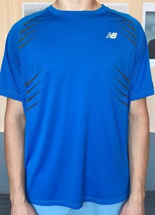 Мужская футболка new balance  размер xl