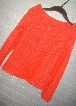 Объемный укороченный свитер miss selfridge