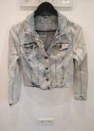Джинсова куртка new look